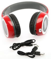 Sport MP3-Player/FM Stereo Headphones Foldable Rechargeable LCD with 4GB TF-card