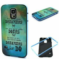 Dreamers Doers 2in1 Glossy Anti-Shock Hybrid Soft Gel TPU Case Cover for phones