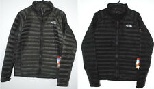 THE NORTH FACE QUINCE JACKET BLACK FUSEBOX GREY INSULATED 800 FILL NEW AUTHENTIC