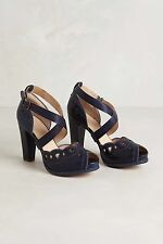 NEW Anthropologie Marlene Peep-Toes By Timberland Sz 9, Heels Platforms RARE