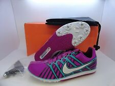 New Nike Zoom Rival D 6 Track Field Running Spikes Women's Men 4568651 513 Grape