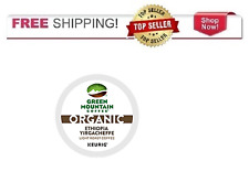 Green Mountain Organic Coffee Keurig 2.0 K-cups ETHIOPIA YIRGACHEFFE