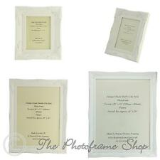 "Matt White Shabby Chic Ornate Swept Vintage Picture Frames From  7""x5"" to 30""x20"