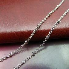 5m Antique Tone Charm Beads Fashion Jewelry 2mm Chain For Necklace Bracelet P266