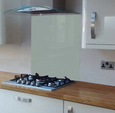 Pastel Aqua Coloured Toughened Glass Splashback 600 x 750mm
