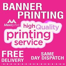 Cheapest and durable Pvc Banner ,free P & P, weather proof, sign,