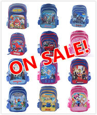 New Kid's Boy's Girl's Large Backpack Campus Shoulder School Bag Day Care Picnic