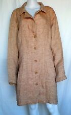 FLAX SELECT Pocketed Duster Jacket, Caramel Lava, L, 1G (1X), 2G (2X), 3G (3X)