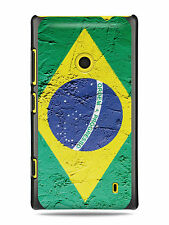 GRÜV Case Cover Vintage Brazil Brazilian Flag for Nokia Devices