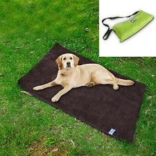 Waterproof Foldable Pet Dog Cat Fleece Blanket Travel Mat Cushion Pad Cover Bed