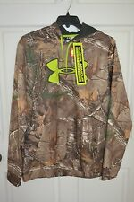 Under Armour Cold Gear Scent Control Realtree Camo Hoodie