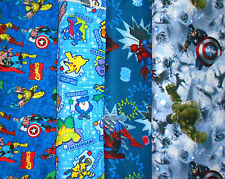 SUPER HEROS #6 Fabrics, Sold Individually, Not As a Group, By The Half Yard