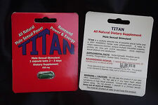TITAN-STRONG, STIFF, AND POWERFUL ERECTIONS AGAIN-INCREASED BLOOD FLOW TO PENIS!