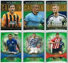 GREEN PARALLEL CARDS - Topps Premier Gold 2014 Football Trading Cards /60