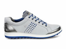 Ecco Golf Biom Hybrid 2 Mens Shoes 151514-59015 Concrete / Royal - New in Box