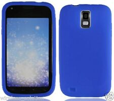 BLUE Silicone Skin Gel Case for Samsung Galaxy S2 SGH-T989