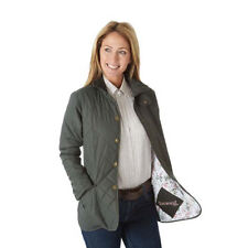 Sherwood Forest Ladies Thorndale Jacket Olive Lightweight Quilted Country Sport