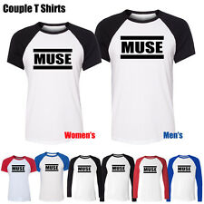 MUSE THE 2ND LAW Packshot Rock Band Pattern Boy's Girl's Couple T Shirt Tee Tops