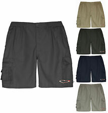 Mens Shorts Cargo Combat Beach Summer Holiday Zip Fly Pocket Work Shorts M-XXXL