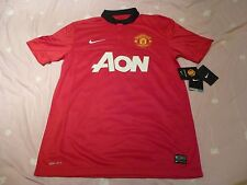 NWT Nike 2013/14 Manchester United Red Home Jersey (Size S/ M / L / XL / XXL)