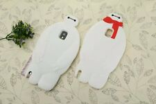 New Cute Cartoon Big Hero 6 Baymax Silicone Phone Cases For Galaxy Note 3/Note 4