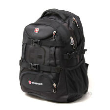 "Swiss gear Men Women 15.6"" Laptop Case Backpack Rucksack Outdoor Travel Bag"