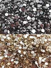 200 x RHINESTONES Flat Back ss16 4mm Decoden CHOOSE COLOURS OR MIX  UK SELLER!