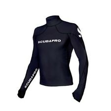 Scubapro T-Flex Long Sleeve Swim Snorkeling Diving Rashguard Men - Black
