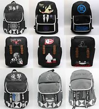 Totoro Death Note backpack Death Note GINTAMA backpack anime shouler school bag