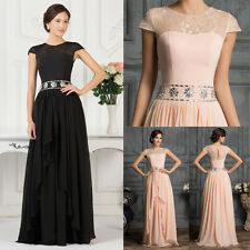 FREE P&P Evening Prom Dress Party Formal Wedding Bridesmaid Dresses GK PLUS SIZE