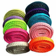 1cm Thread Glitter Sparkle Shoelaces Shoe Laces Shoestrings for Sneaker 110cm