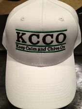 the Chive *Authentic* Collegiate Keep Calm and Chive On Snapback Hat