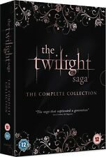 TWILIGHT SAGA COMPLETE COLLECTION 5 MOVIES 1 2 3 4 5 DVD 5 DISCS 1-5 R2