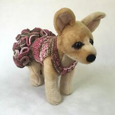 Handmade Knit Clothes Sweater Dress for Dogs / Pets Size Xxs, Xs, S