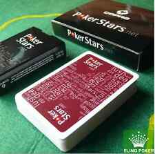 2 x ORIGINAL PokerStars Poker cards by COPAG ORIGINAL PACKAGE 100% Plastic