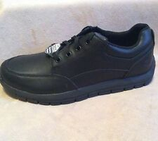 76971 Black Skechers Men's Magma Soother Relaxed Fit Work Non Slip