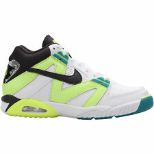 NIKE AIR TECH CHALLENGE III 3 ANDRE AGASSI TENNIS WHITE VOLT 8-13   749957-100