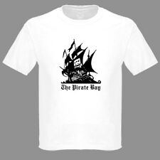 The Pirate Bay Torrent Download Site T Shirt Small to 5XL 100% Preshrunk Cotton