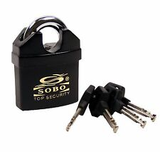 SOBO SPPO60 Full Shrouded High Security Heavy Duty Padlock