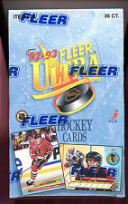 1992-93 Fleer Ultra Hockey Card Wax Pack Box Series 1 I One Set Jeremy Roenick
