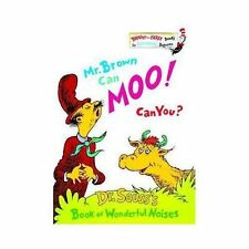 Bright and Early Books Ser.: Mr. Brown Can Moo! Can You? by Dr. Seuss (1970,...