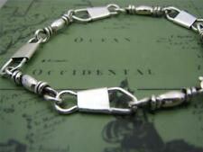 ACTS Sterling Silver Fishers Of Men Bracelet (hand made)