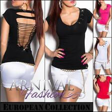NEW SEXY LADIES FASHIONS TOP XS S M L WOMEN'S CASUAL SHIRTS shop online CLUBWEAR