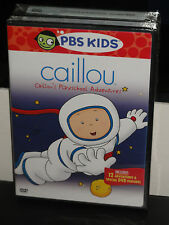 Caillou - Playschool Adventures (DVD) Childrens, Television! PBS KIDS DVD! NEW!