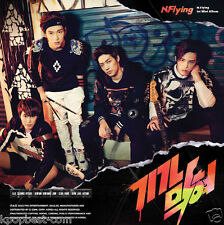 N.FLYING - Awesome (1st Mini Album) CD+Photocard+Character Sticker+Poster K-POP