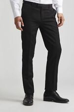 EDGE Slim Worsted Pants - Black - Dress or Suit luxury pants - Jack Threads