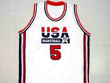 DAVID ROBINSON TEAM USA JERSEY NEW SEWN WHITE - ANY SIZE XS - 5XL