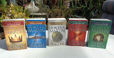 George R. R. Martin GAME OF THRONES ALL 5 SONG OF ICE AND FIRE