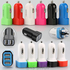 USB Car Charger cigarette Socket Charger For iPhone 4 5 6 6s iPad Samsung nokia