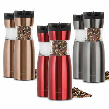 1 Wolfgang Puck Pepper Mill Gravity Salt or Pepper Spice Grinder 3 Colors
